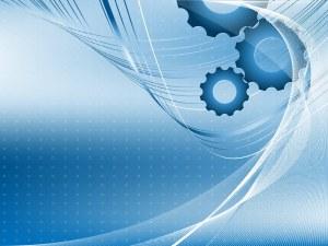 backdrop-blue-technology-gear